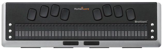 Brailliant BI 40 Refreshable Braille Display