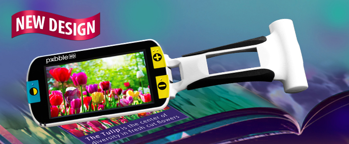Pebble HD Handheld Magnifier
