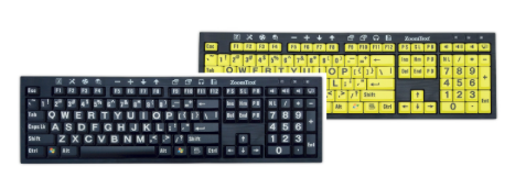 ZoomText Large-Print Keyboard
