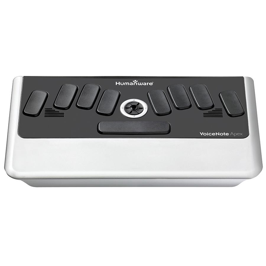 VoiceNote Apex BT (Braille keyboard)