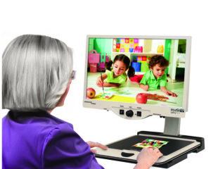 """Merlin HD Ultra 24"""" Desktop Electronic Video Magnifier"""