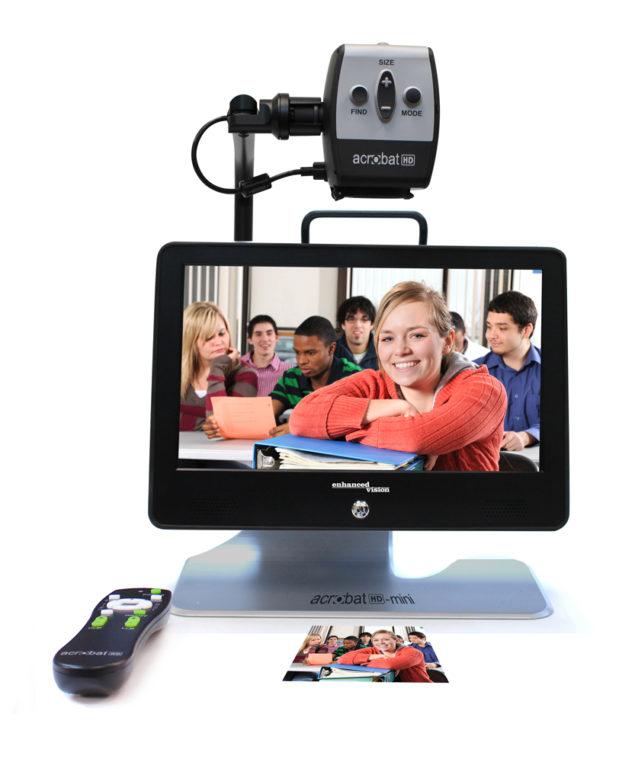Acrobat Mini HD portable video magnifier for students