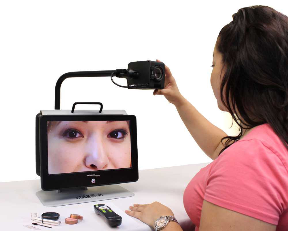 Acrobat HD Mini Ultra Portable Electronic Video Magnifier With Case