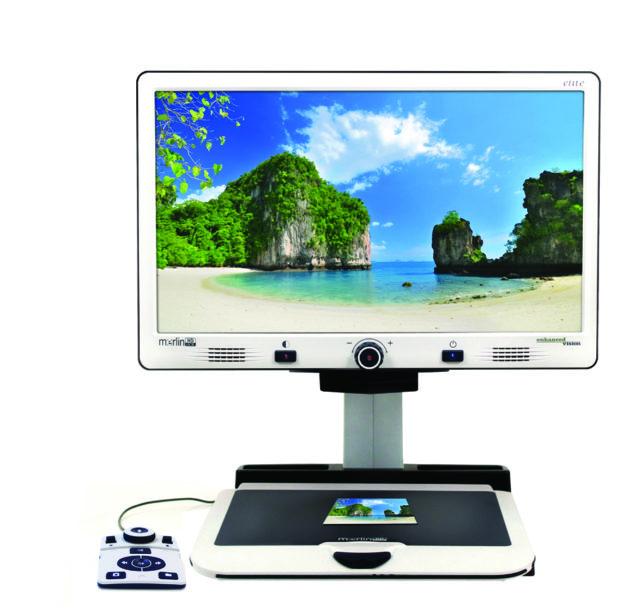 Merlin Elite Desktop Video Magnifier - enjoy photos again