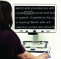 Merlin Elite Desktop Video Magnifier - helps you experience the joy of reading again