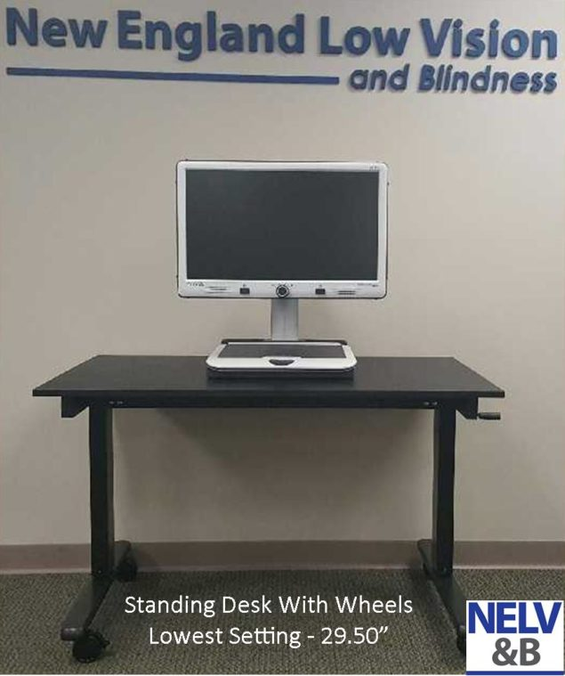"Rolling Stand on Casters 48"" Wide and Height adjustable"