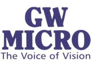 GW Micro The Voice of Vision Logo