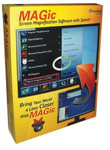 MAGic® Screen Magnification Software