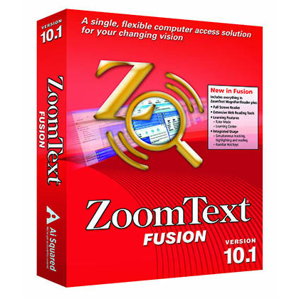 Photo of ZoomText Fusion 10.1 software