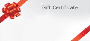 New England Low Vision and Blindness Holiday Gift Certificate