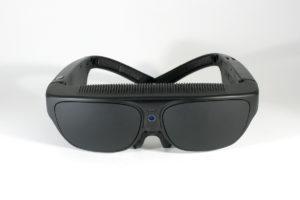 Front Facing photo of NuEyes Smartglasses