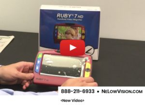 Ruby 7 HD Portable Video Magnifier