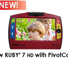 Ruby 7 HD Handheld Video Magnifier