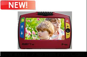 Ruby 7 HD Handheld Video Magnifier