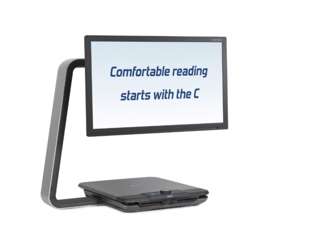 Clearview C with Speech HD video magnifier gives you back your independence.