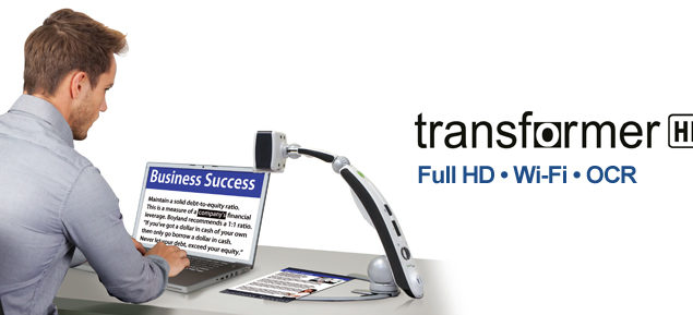Transformer HD with WiFi and OCR