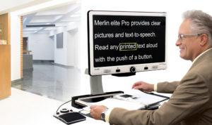 Merlin Elite Pro – Full HD Desktop OCR/CCTV