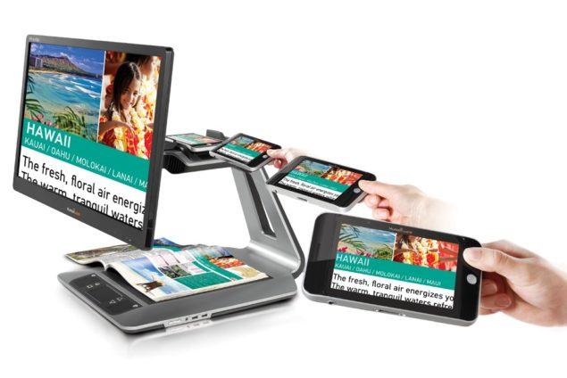 "Prodigi Duo Electronic Magnifier with 20"" LCD Screen"