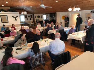 Scott Krug Presents At Cape Cod Blinded Veteran's Association News