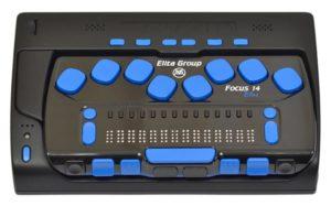 ElBraille 14 - Portable Braille Computer
