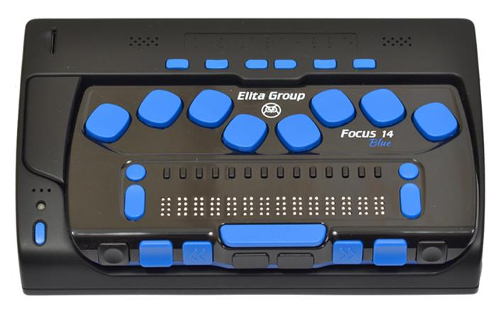 ElBraille 14 - Portable Braille Computer