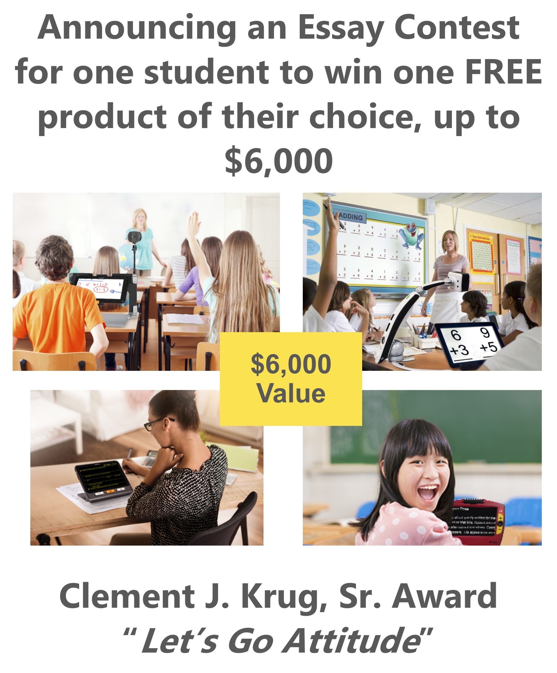 Clement J. Krug, Sr. Award Announcements News