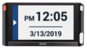 Compact 6 HD Date and time on screen
