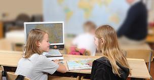 MagniLink Zip Students in classroom