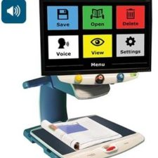 TOPAZ® OCR Desktop Video Magnifier With Speech