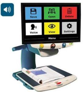 TOPAZ® OCR Desktop Video Magnifier With Speech