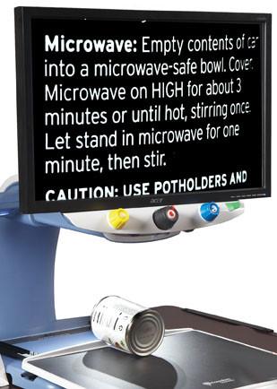 TOPAZ OCR Desktop Video Magnifier Reading Can