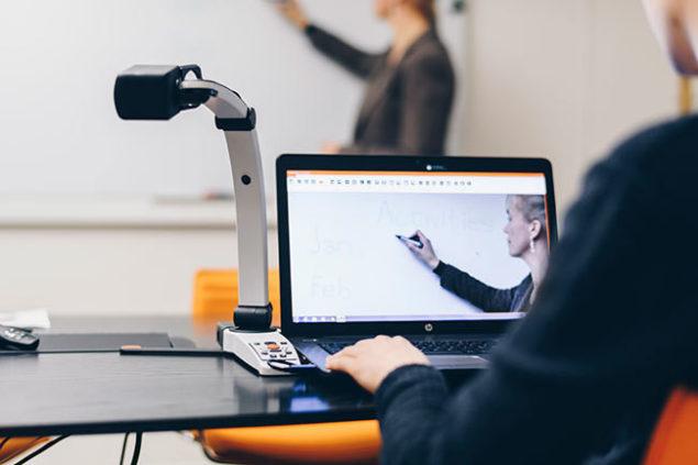 MagniLink S Premium 2 In the classroom
