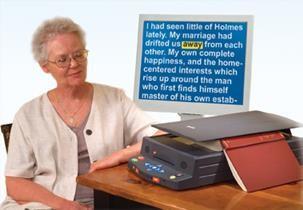 "SARA™ Scanner and Reader OCR – w/22"" Monitor"