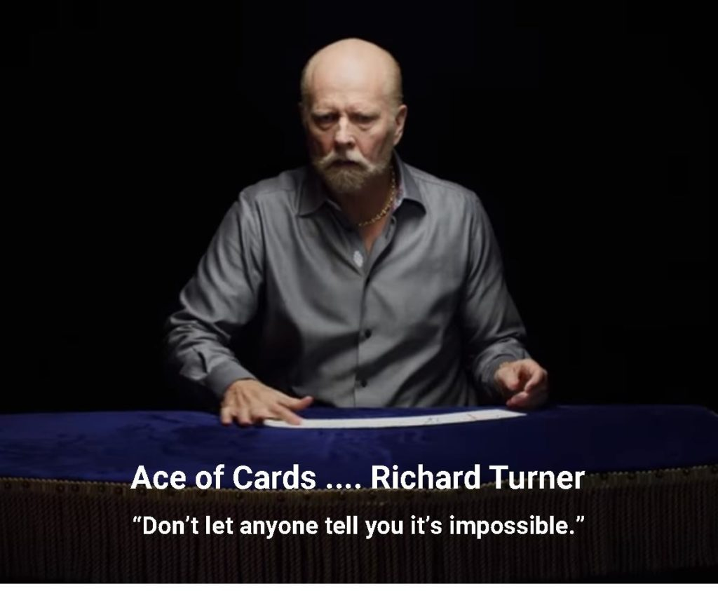 Richard Turner, Ace of Cards Uncategorized