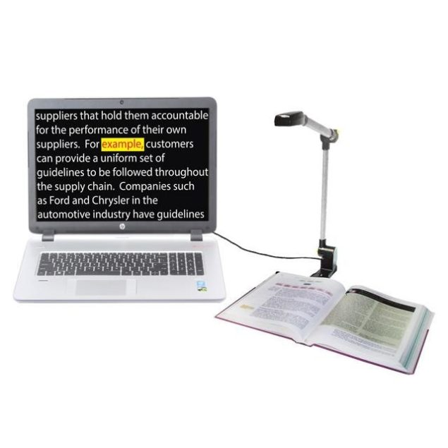 PEARL Portable Electronic Video Magnifier and Reading Camera
