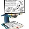 TOPAZ XL HD magnifying a full page of model airplane directions