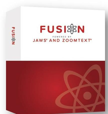 ZoomText Fusion Home Edition - Single Version Upgrade