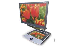 """ClearView+ HD Standard Arm With 22"""" Monitor"""