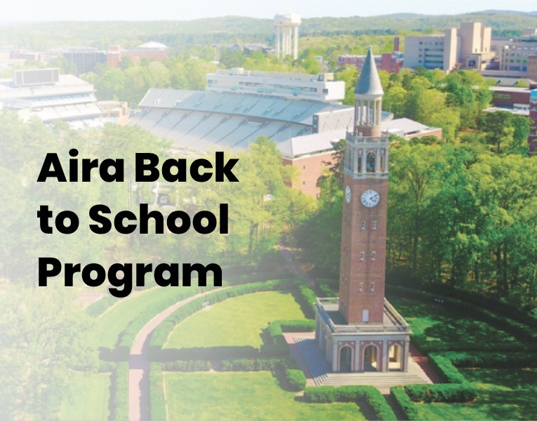 Aira's Back To School Program Returns For Class Of 2018-2019 Announcements Education News