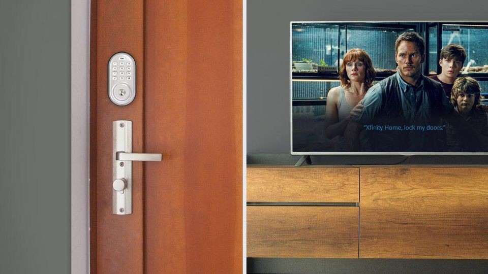 Comcast Dives Deeper Into Smart Home With Voice-Activated Smart Lock Partnership Smart Homes