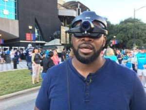 Visually Impaired Veterans Watch Panthers Through New Lens News Technology