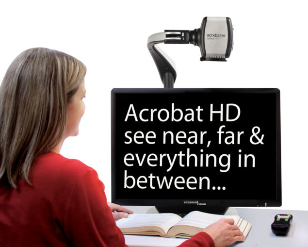 "Acrobat HD Ultra LCD 20"" & Rolling Case"