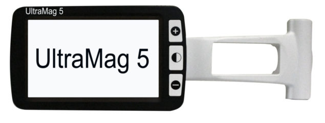 UltraMag 5 Portable Electronic Video Magnifier