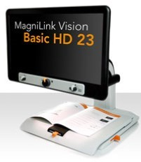 "MagniLink Vision Basic HD 23"" Desktop Electronic Video Magnifier"