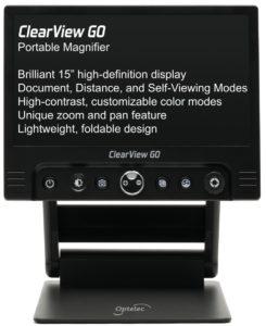 "ClearView GO 15"" Desktop Electronic Video Magnifier"