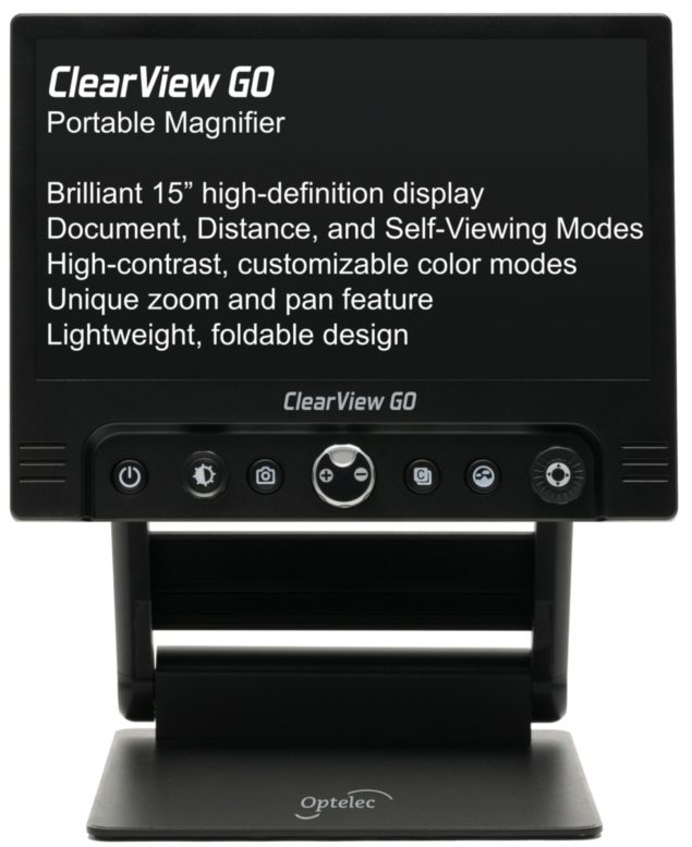 ClearView GO Desktop Electronic Video Magnifier