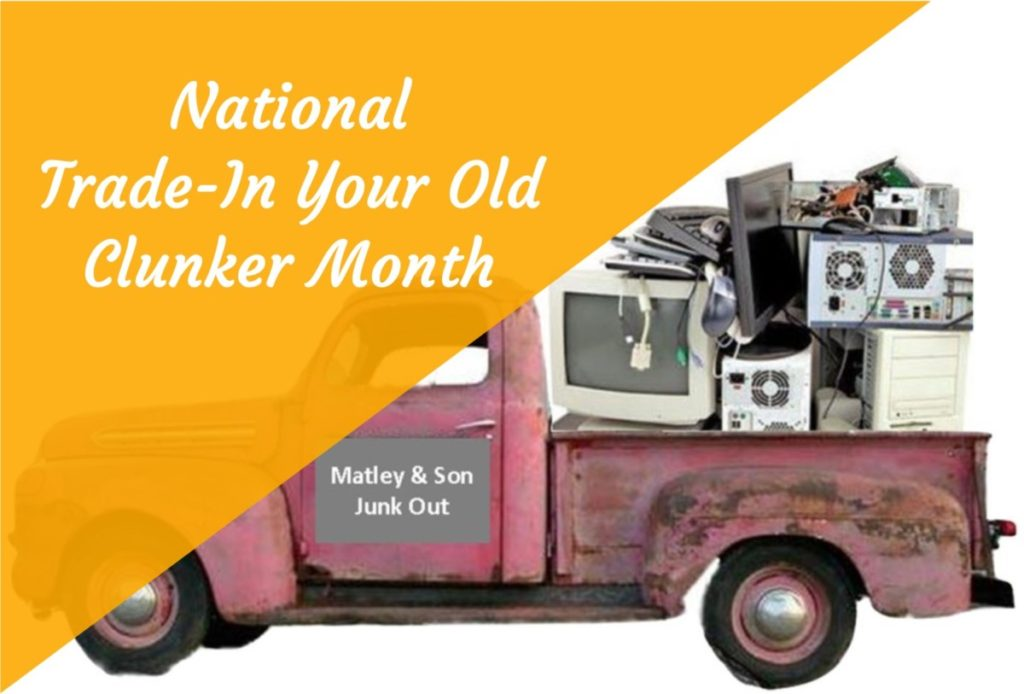 National Trade-In Your Old Clunker Month Technology Training