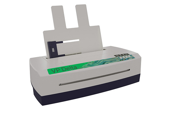 VP Delta 2 Braille Embosser - Front-Side View