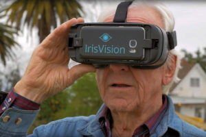 IrisVision Low Vision Wearable Glasses