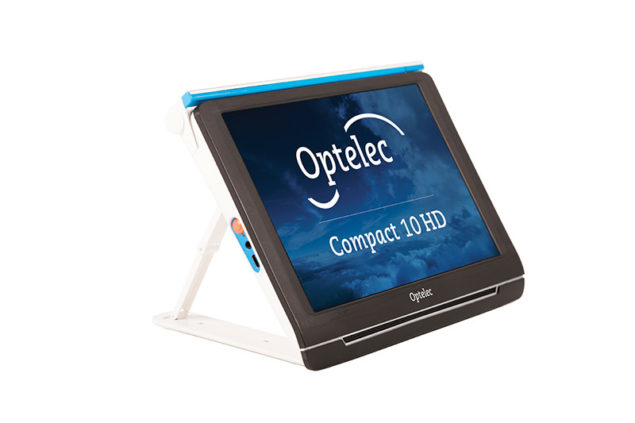 Optelec Compact 10 HD_Front left